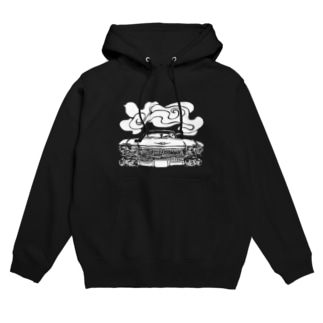 cadillac smoke Hoodies