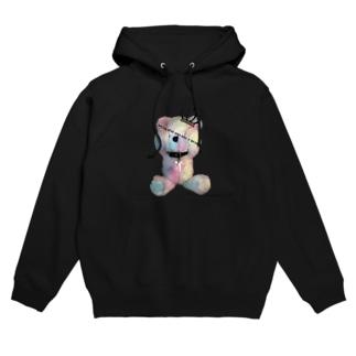 Royal Teddy  Rainbow Hoodie