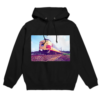 ELECTRICLADY LABOの電車雷鳥 Train mania Hoodies