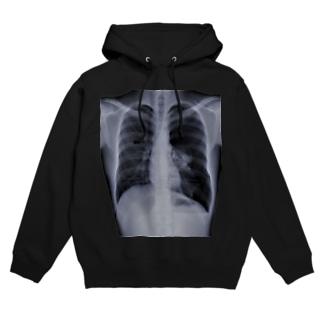 隻肺 Hoodies