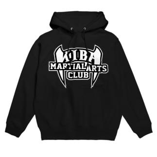 KIBAマーシャルアーツクラブ公式ロゴ Hoodies