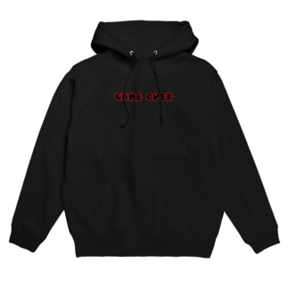 GAME OVER Hoodies