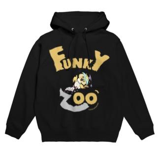 フクロウ 〜FUNKY ZOO〜 Hoodies