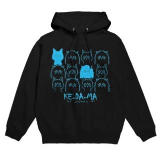 猫THE MOVIE 【KE-DA-MA】~963と463~ Hoodies