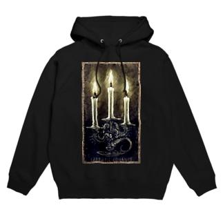Cthulhu Candle Hoodies