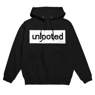 unlooted square Hoodies
