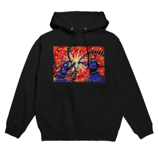 Life with Kendo (motion graphic) Hoodies