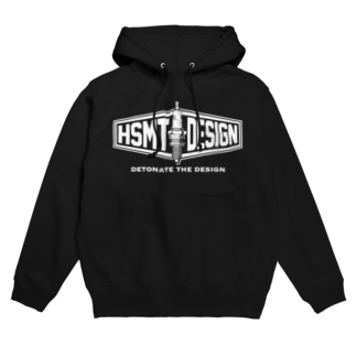 HSMT design@METALのHSMT design PLUG WHITE Hoodies