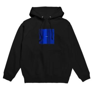 deep blue Hoodies