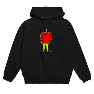 りんごのたたずまい。 Hoodies