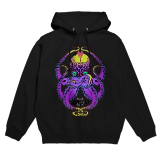 DamyCatの8OCT(violet) Hoodie