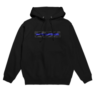SOMORIの国士の迷彩(黒×青) Hoodies