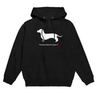 Coco 肉球Red Hoodies