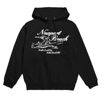 NEWPORT BEACH  DARK COLOR VERSION Hoodies