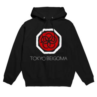 TOKYO BEIGOMA LOGO Hoodies
