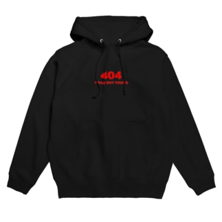 404 PAGE NOT FOUND:行方不明 Hoodies