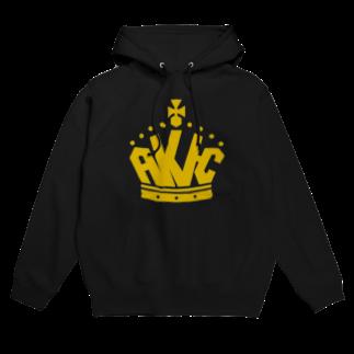 AKI-Cの王冠ロゴ Hoodies