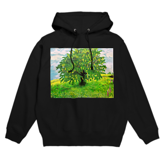 SJMavisの輝くような孤立するキングサリの木:Laburnum Tree in Splendid Isolation Hoodies