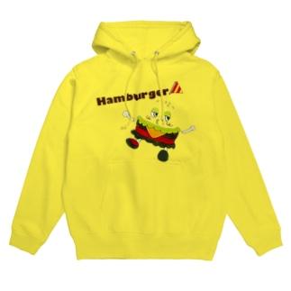 パンなしHamburger フーディ