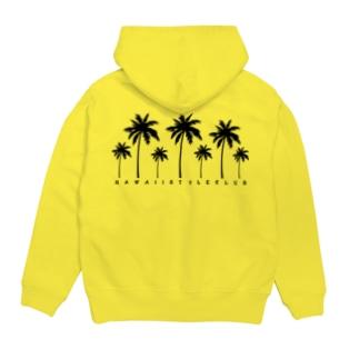 〔Back Print〕 Palm tree Hoodies