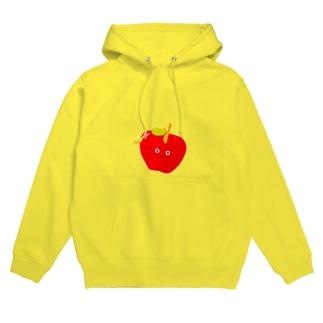 りんご Hoodies