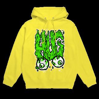HUGオフォシャルショップのHUG, Slime, Melt... Hoodies