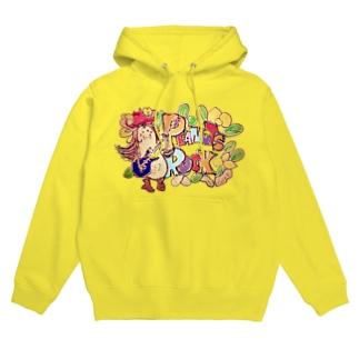Peanuts Rockちゃん Hoodies