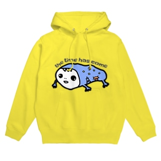 the_time_has_come Hoodies