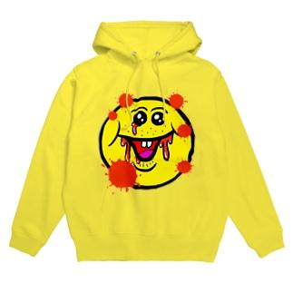 笑い太郎(血みどろ) Hoodies