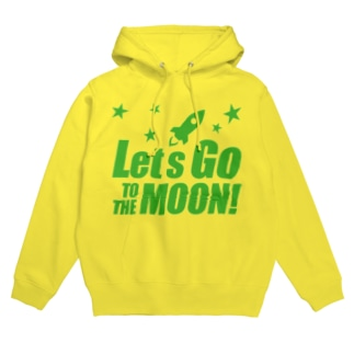 Let's go to the moon! Hoodies