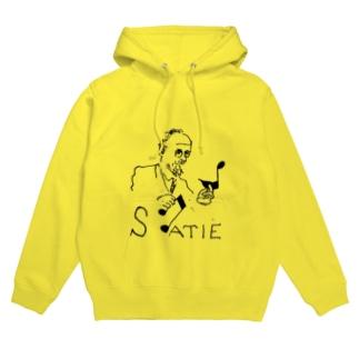 SATIE Hoodies
