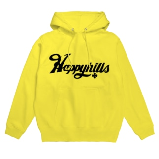 Happyhillsふくおか(黒) Hoodies