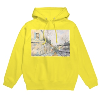 ユトリロの幻影:Mirage of Utrillo Hoodies