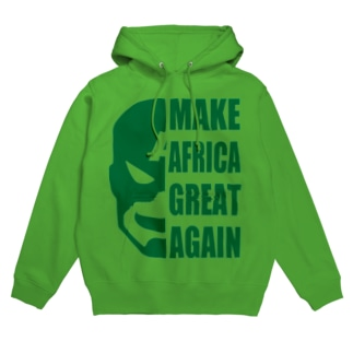 MAKE AFRICA GREAT AGAIN Hoodies