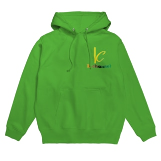 K-channelパーカー グリーン Hoodies
