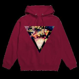 【三角形の穴】の▼5-2【逆三角形の穴】 Hoodies