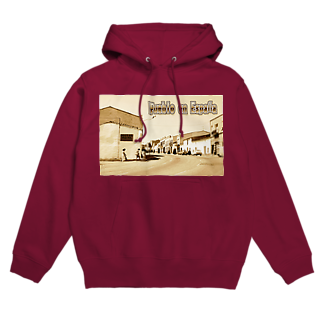 FUCHSGOLDのスペイン:村の昼下がり Spain: Afternoon in village Hoodies