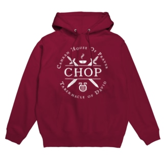 CHOP ホワイトロゴ Hoodies