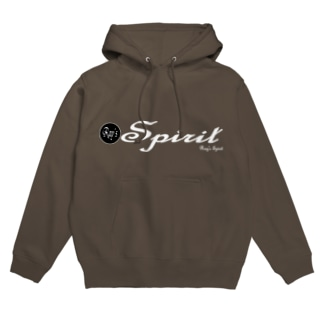 Ray's Spirit Logo ②(WHITE) フーディ