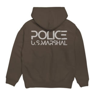 AIRSOFTER 【cyber Marshal】 Hoodies