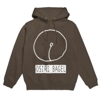 OSIRI BLACK Hoodies