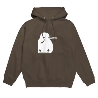 でっかいキキちゃん(濃色用)  Hoodies