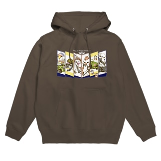 [濃色用]We are Awaho Hunters! Hoodies