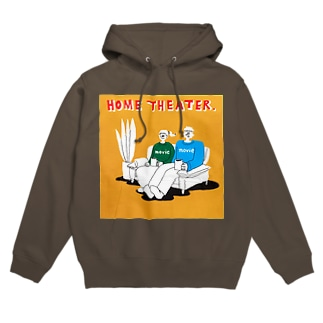 "shinri murakami "" HOME THEATER ""  Hoodies"