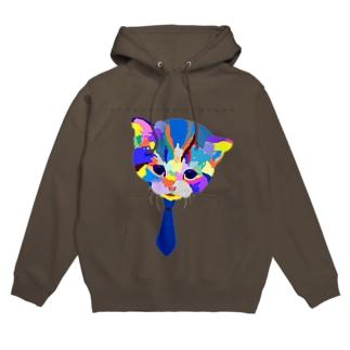 猫for_boy Hoodies