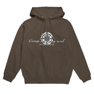 Compass is my soul Hoodies