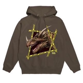 ドラゴンデンジャー1号 Hoodies