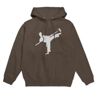 karate painter Hoodies