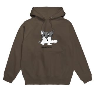 CATMELTDOWN-溶ける猫- Hoodies