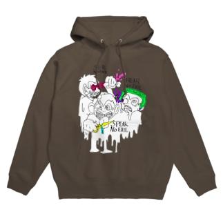 惨劇の三猿【フル】 Hoodies